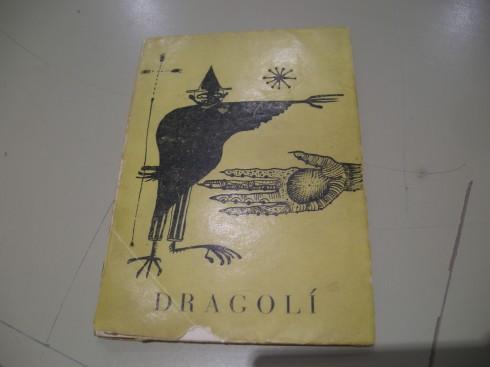 """Portada de """"Dragolí"""", amb l'Urnulfu i l'ocellota a la portada"""