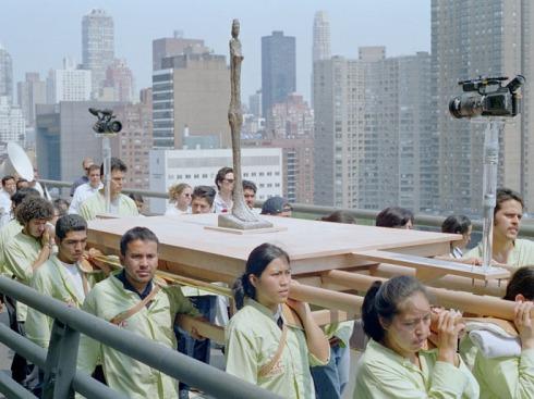 The Modern Procession. Francis Alÿs, Nova Iork, 2002http://www.francisalys.com/public/procession.html