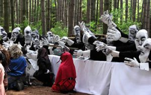 Accions en espais naturals de Bread and Puppet Theater
